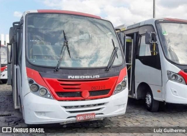 Vídeo: Depósito de ônibus pega fogo na Zona Oeste do Rio de Janeiro - revistadoonibus