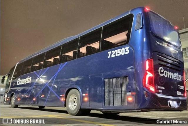 Vídeo: Conheça detalhes do novo Busscar Vissta Buss 360 Scania da Viação Cometa - revistadoonibus