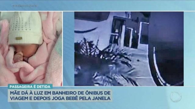 Vídeo: Passageira dá a luz em banheiro de ônibus e arremessa recém nascido em via - revistadoonibus