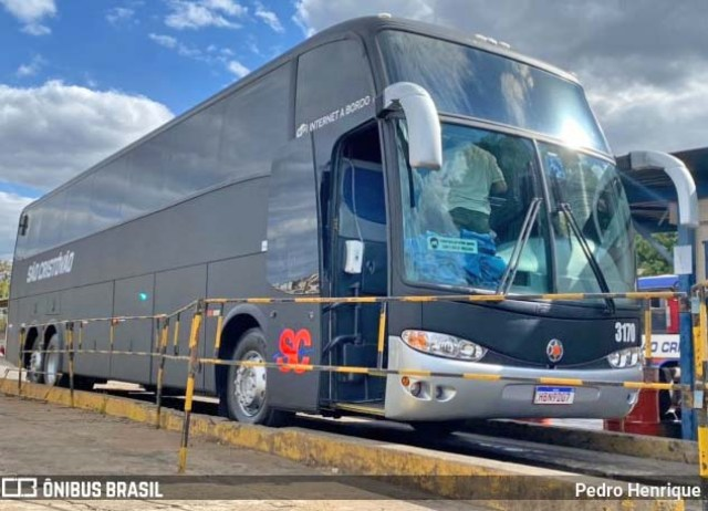 MG: Viação São Cristóvão muda identidade visual de mais um ônibus - revistadoonibus