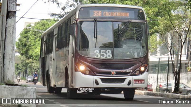 Manaus: Bandidos são detidos pela PM após assaltar ônibus na Zona Norte