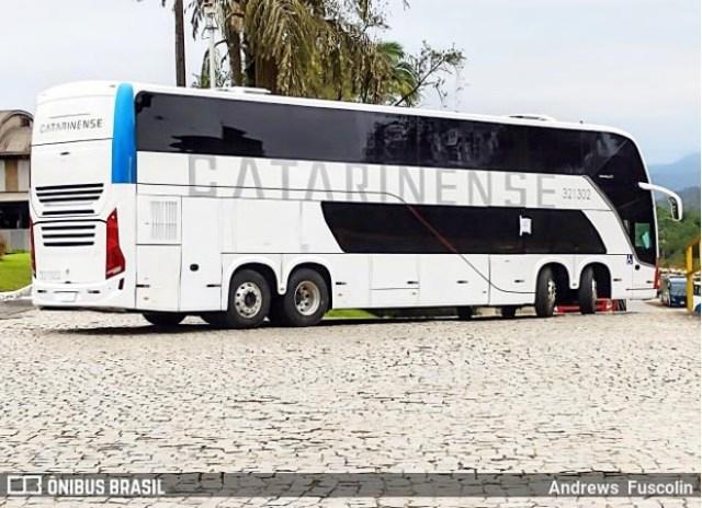 Auto Viação Catarinense deve estrear seus novos ônibus Busscar DD até outubro - revistadoonibus
