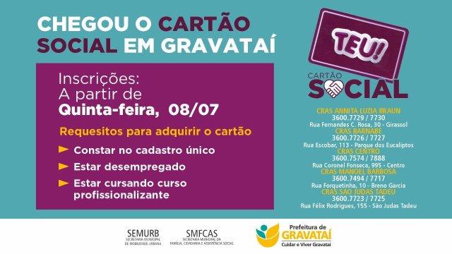 RS: Gravataí lança Cartão Social no transporte municipal - revistadoonibus