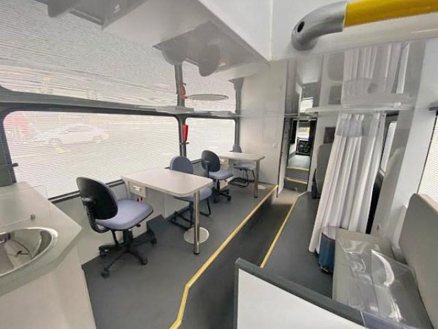 Maringá: Hemocentro recebe moderna unidade móvel para coleta de sangue - revistadoonibus