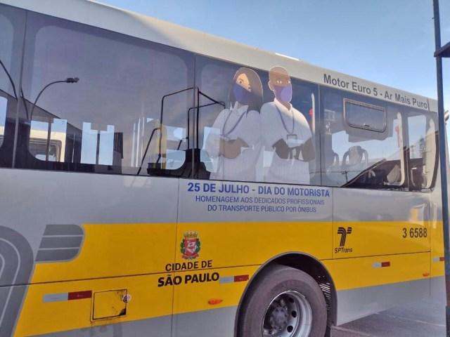 São Paulo: Ônibus serão decorados em homenagem ao Dia do Motorista - revistadoonibus
