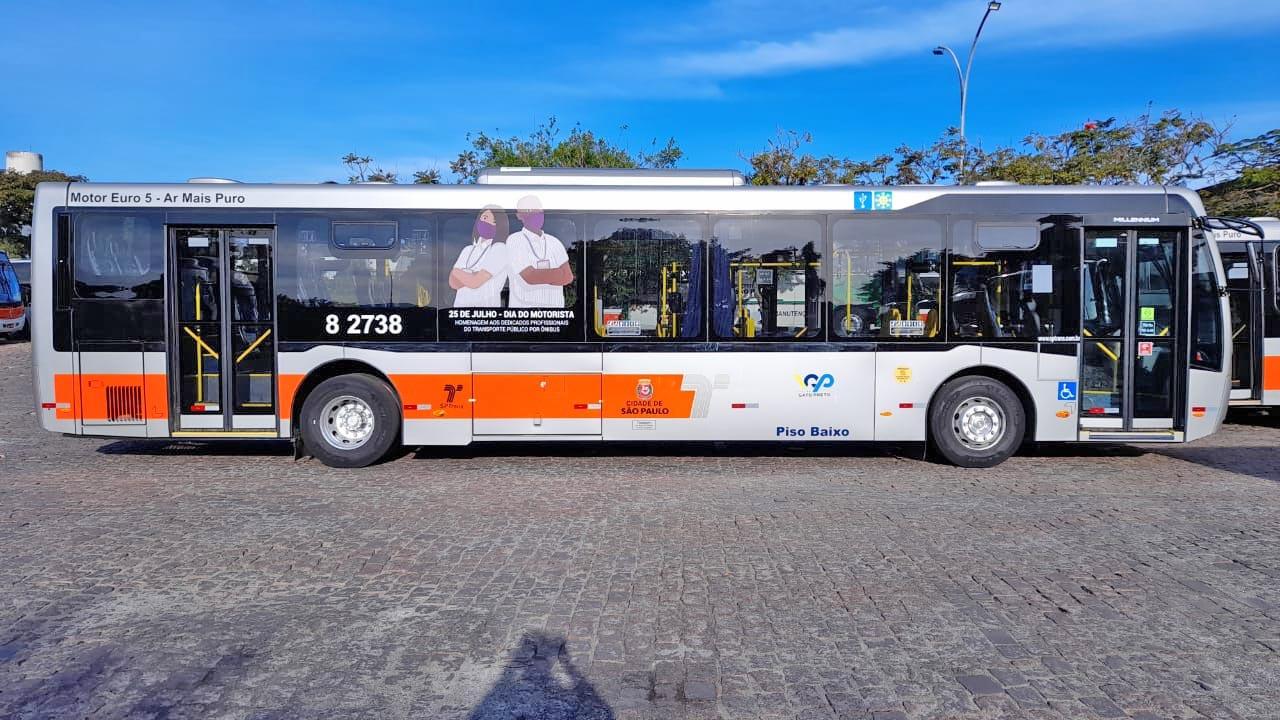 São Paulo: Ônibus serão decorados em homenagem ao Dia do Motorista