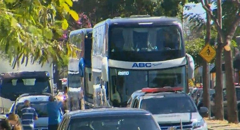 Belo Horizonte: Delegação do Boca Juniors deixa a delegacia após mais de 12 horas de detenção