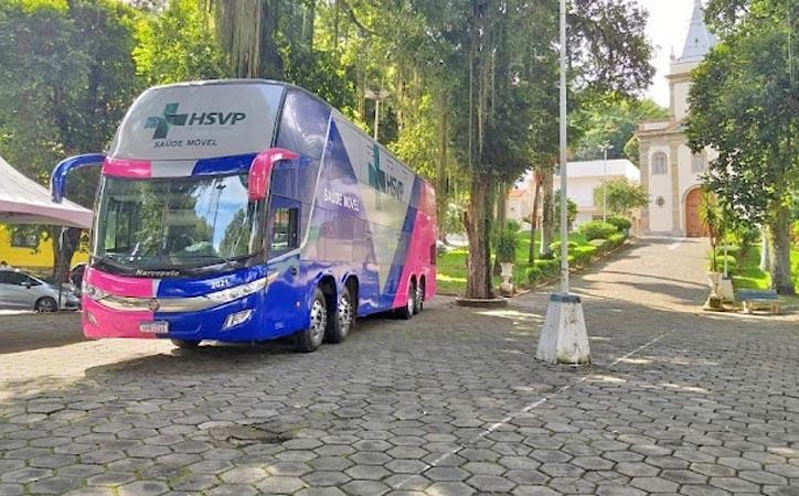 MG: Barbacena recebe nesta terça e quarta-feira o ônibus da saúde com exames preventivos de câncer