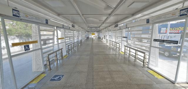 Rio: Prefeitura anuncia a abertura da estação Cardoso de Moraes do BRT - revistadoonibus