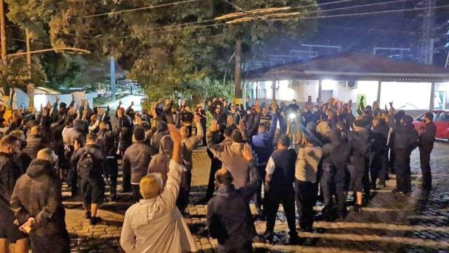 SP: Rodoviários de Santos paralisam o transporte devido demissões na cidade - revistadoonibus