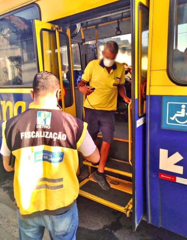 Rio: Detro realiza operação ação acessibilidade - revistadoonibus