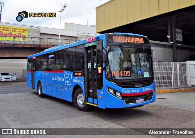 RJ: Viação Nossa Senhora da Penha chama atenção com início da operação dos novos ônibus