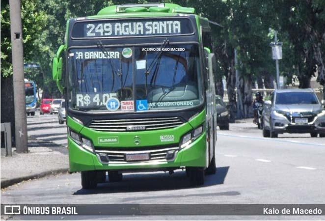 Rio: Ônibus da empresa Rodoviária Âncora Matias atropela pedestre no Centro