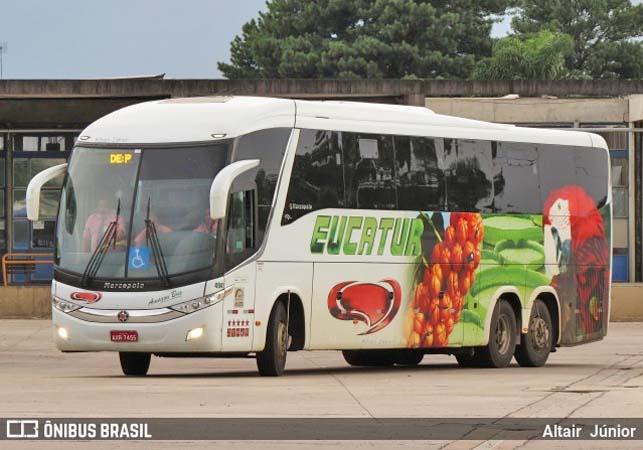 Campo Grande: Criança desmaia dentro de ônibus da Eucatur que seguia para Maringá