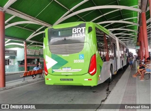 BA: Ônibus voltar a circular em Feira de Santana nesta terça-feira - revistadoonibus