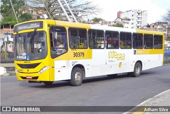 Salvador: Ação de marginais volta suspender a circulação de ônibus em Valéria