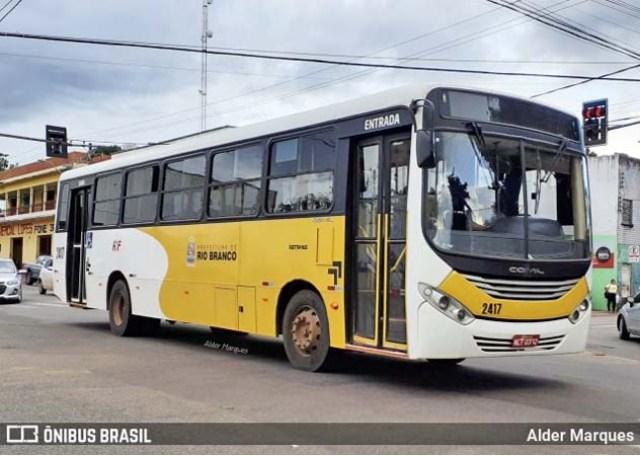 Rio Branco segue com 100% da frota de ônibus em operação - revistadoonibus