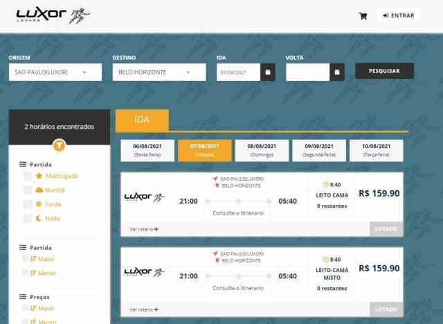 Expresso Adamantina possui grande procura por passagens na São Paulo x Belo Horizonte nesta sexta-feira - Levare - revistadoonibus
