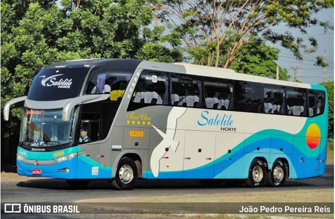 Expresso Satélite Norte inicia a venda de 8 ônibus Paradiso G7 1600LD