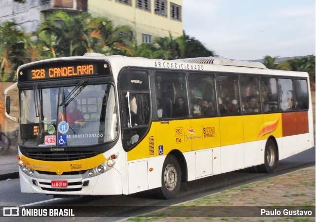 Rio: Motorista da Transportes Paranapuan é mordido por rato dentro do ônibus