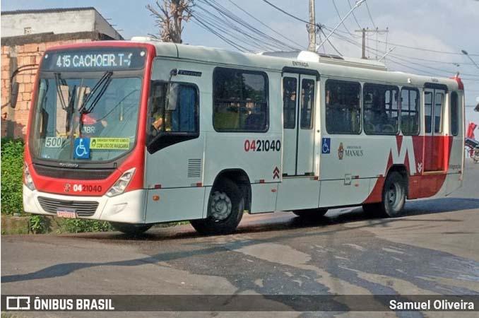 Manaus faz mudanças em linhas de ônibus da zona Norte