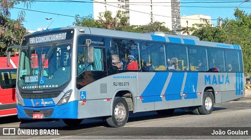 RJ: Viação Mauá disponibiliza ônibus com ar-condicionado na linha 423M – Niterói x Portão