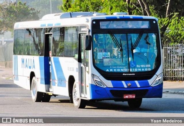 RJ: Viação Mauá disponibiliza ônibus com ar-condicionado na linha 423M - Niterói x Portão - revistadoonibus