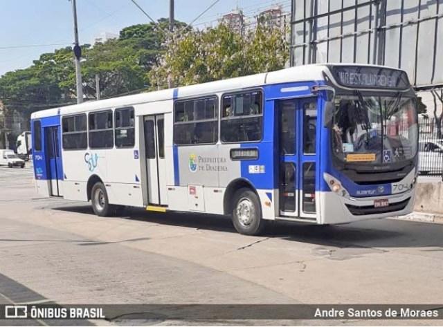 Bandidos incendiam ônibus em Diadema na Grande São Paulo - revistadoonibus