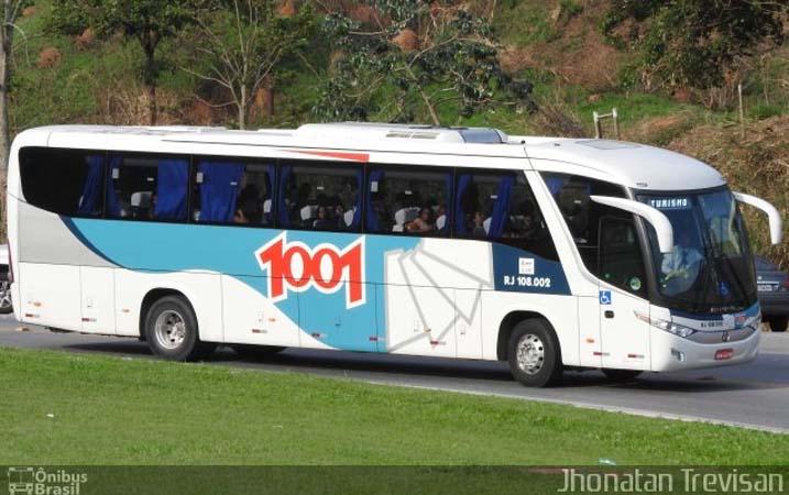 Vídeo: Ônibus da 1001 perde o pneu dianteiro na Ponte Rio x Niterói