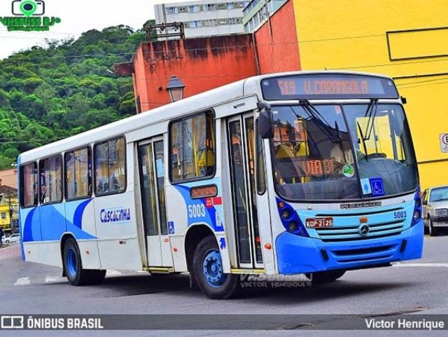 Vídeo: Ônibus da Viação Cascatinha perde eixo traseiro nesta manhã em Petrópolis - revistadoonibus