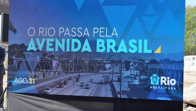 Rio: Prefeitura reinicia obras da Transbrasil e apresenta projeto de integração com VLT