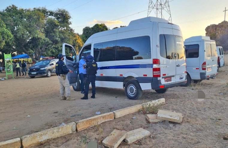 PE: ANTT e PRF realizam operação contra o transporte clandestino em Petrolina