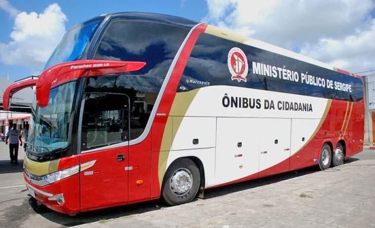 Ônibus da Cidadania do MPSE será utilizado em trabalhos sociais da prefeitura de Aracaju