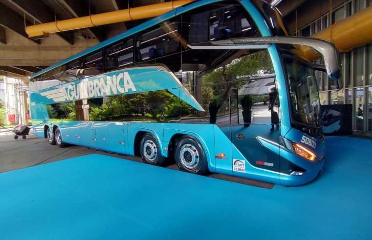 Viação Aguia Branca estréia com Marcopolo G8 na São Paulo x Rio nesta quinta-feira 16