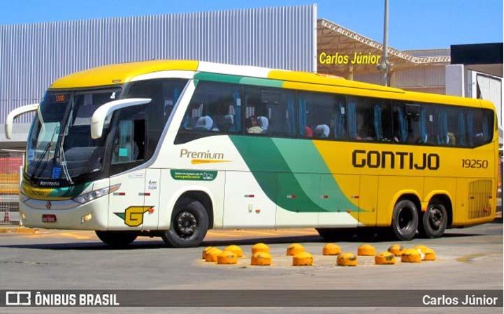 BA: Ônibus da Gontijo é assaltado na BR-101 no trevo de Valença