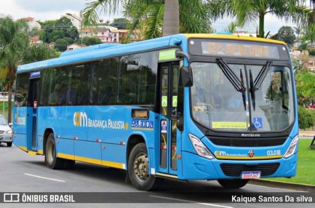 SP: Bragança Paulista realiza fiscalização em ônibus - revistadoonibus