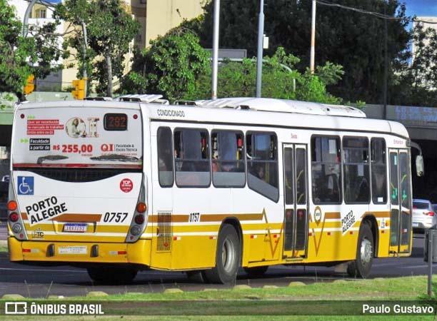 Porto Alegre: Ônibus da Carris circulam sem restrições neste sábado