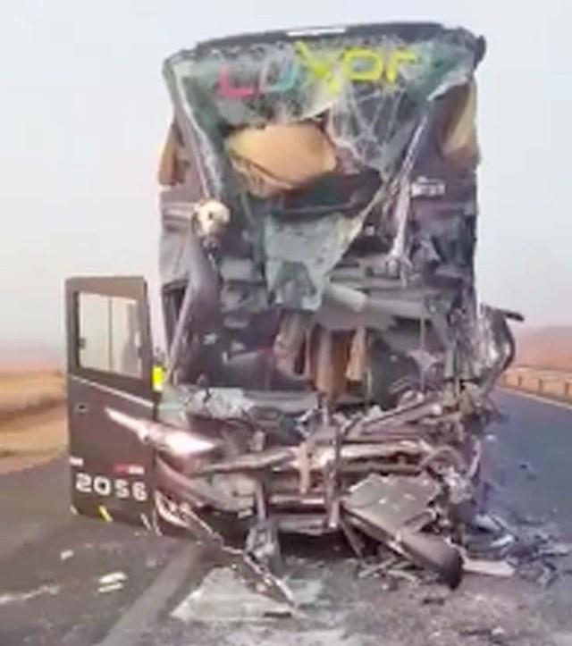 SP: Acidente com ônibus da Levare Transportes deixa um morto e oito feridos na Rodovia Anhanguera - Vídeo - revistadoonibus