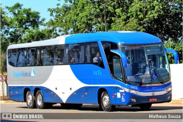 GO: Ônibus da Rápido Federal com 43 passageiros bate na traseira de carreta na BR-060 em Alexânia - revistadoonibus