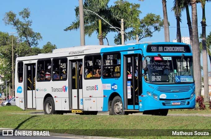 Vitória: Cobradores estarão de volta nos ônibus do Transcol em 2022, diz Fábio Damasceno