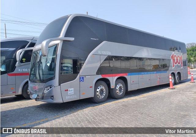 Auto Viação 1001 recebe dez novos ônibus Busscar Vissta Buss DD 8×2 Scania