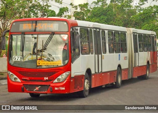 Manaus: Assaltos em ônibus neste sábado (4) acabou deixando passageiros apreensivos