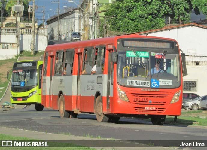 São Luís: Marginais fazem arrastão em ônibus na Avenida Beira Mar