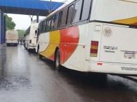 PR: Receita Federal apreende três ônibus na BR-277 em Santa Terezinha de Itaipu - revistadoonibus