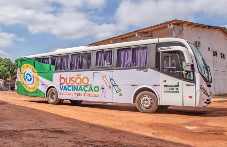 RO: Cacoal usa ônibus da vacinação nesta semana