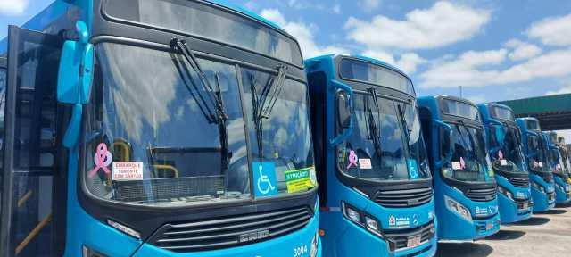 SP: BRT Sorocaba e Consor transportam mensagem de alerta e prevenção ao câncer de mama - revistadoonibus