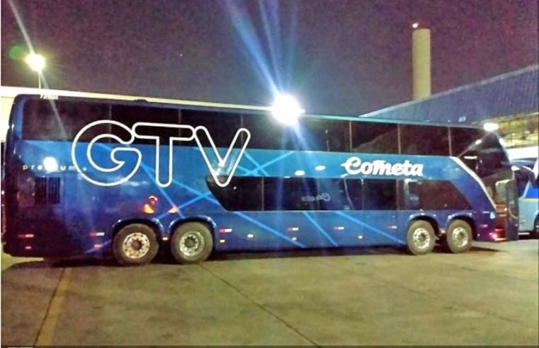 Viação Cometa frustra clientes exigentes ao trazer Busscar DD Scania 8x2 sem o leito cama - revistadoonibus