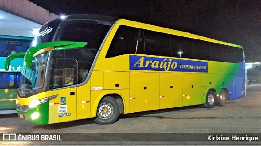MG: Araújo Turismo diz que acidente com ônibus na BR-040, foi causado por chuva