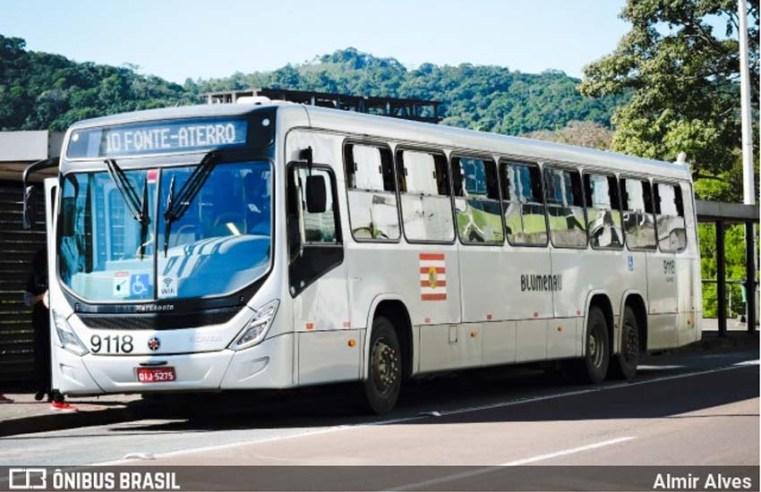 Blumenau suspende a circulação de veículos nos corredores de ônibus a partir de segunda, dia 4