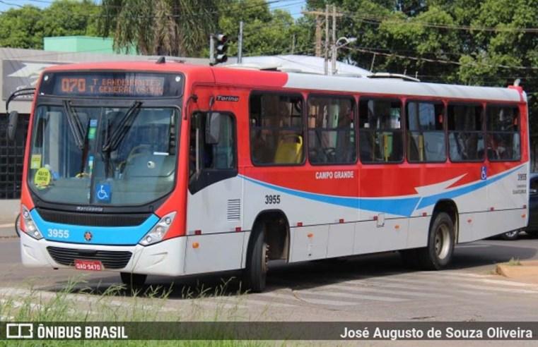 Campo Grande terá redução na frota de ônibus nesta segunda e terça-feira